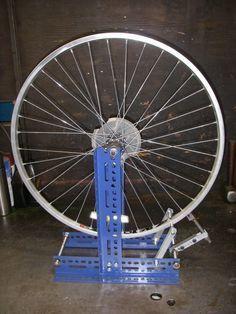 Foldable MTB Road Bike Wheel Truing Stand Maintenance Rack Bicycle Cycling  Z!