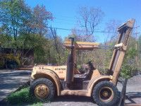 1988 Hyster H150H 7.5 ton Diesel Forklift http://heavyequipment.us/listings/1988-hyster-h150h-7-5-ton-diesel-forklift/