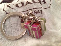 Coach Present Key Chain - Good Condition! Free Shipping! #Coach