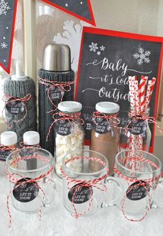 mamas kram: Werken mit Papier / Basteln mamas kram: works with paper / handicrafts Hot Chocolate Toppings, Best Hot Chocolate Recipes, Crockpot Hot Chocolate, Hot Chocolate Cookies, Homemade Hot Chocolate, Christmas Hot Chocolate, Frozen Hot Chocolate, Hot Chocolate Bars, Apres Ski Party