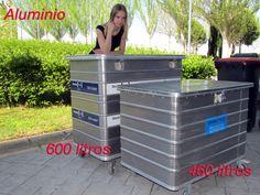 Arcones Aluminio 600 y 460 litros