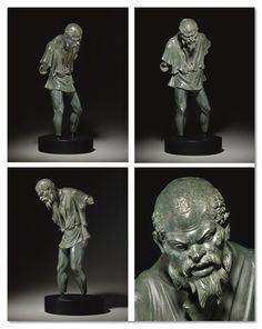 A GREEK BRONZE GENRE FIGURE HELLENISTIC PERIOD, CIRCA MID 1ST CENTURY B.C.  | Christie's