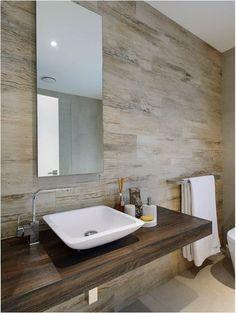Wood Countertops in Bathrooms