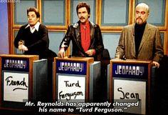 """""""Jeopardy""""'s Alex Trebek says name of Burt Reynolds' """"SNL ..."""