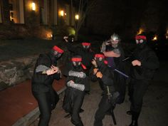 The Foot Clan TMNT cosplay
