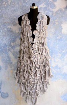 smocking gathers :: would make a cute cover up.