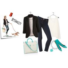 """""""Tiffany Cute Casual"""" by getsnazzy on Polyvore"""