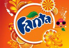 new fanta logo Fanta Logo, Barbie Super Princesa, Coca Cola Brands, Soda Brands, Web Design, Orange Soda, Fanta Can, Old Logo, Creative Studio