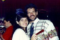 Daniella Perez e Raul Gazolla