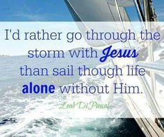 With Jesus!