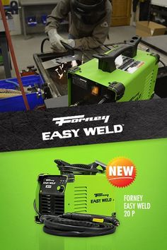 Forney Easy Weld 20 P Plasma Cutter - the first of its kind.