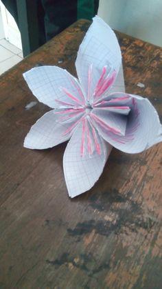 Çiçek 🌸 origamisi