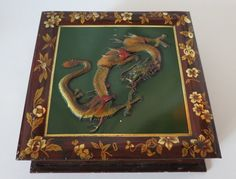 Huntley Palmers Biscuit Tin Thin Captain Antique c. 1900 Large Box w/ Paper Dragon, Old Things, Things To Come, Vintage Tins, Antiques, Chocolates, Biscuits, Van, Reading
