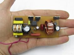 Diy Electronics, Electronics Projects, Switched Mode Power Supply, Power Supply Circuit, Robotics Projects, Radiant Energy, Electronic Schematics, Diy Tech, Circuit Design