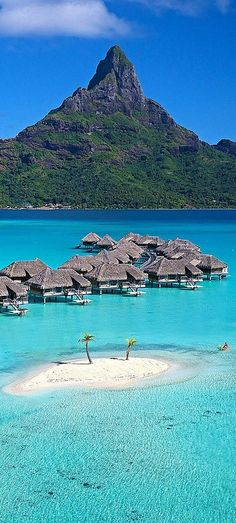 Thalasso Resort is situated on one of the beautiful coral motus which ring Bora Bora Lagoon on the east.