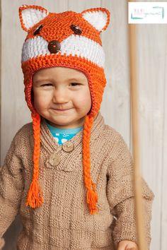 Niedliche Mütze für Kinder zum Selbermachen