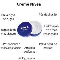 Creme Nivea Face E, Makeup Tips, Hair Makeup, Perfect Skin, Spa Day, Good Skin, Skin Care Tips, Hair And Nails, Body Care
