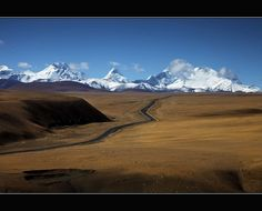 """Got Places To Go and People To See!' (Tibet road)"