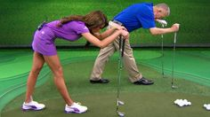 'School of Golf's' Martin Hall and Holly Sonders show you four stretches every golfer should be doing before every round. Watch 'School of Golf' Wednesdays 7PM ET.