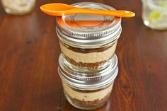 Oh She Glows  Mini Peanut Butter Cups in a Jar--Vegan    I cannot wait to try this one!!
