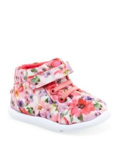 Step  Stride Flower Monan-P Sneakers - Girl InfantToddler Sizes