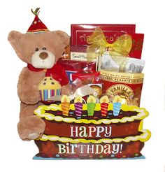 Happy Birthday Gift Basket Baskets Gifts Professional