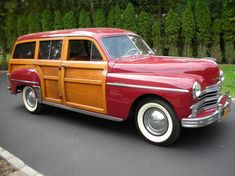 1949 Plymouth Special Deluxe Woodie station Wagon
