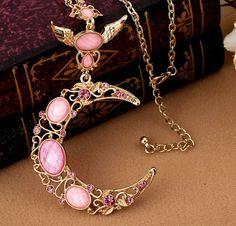 ☯ ☾ ✰ Amazing Sailor Moon Necklace<3