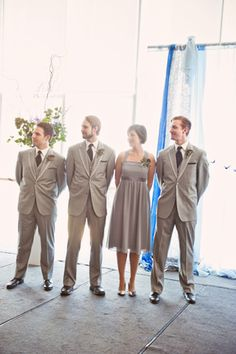 Groomswoman... Why don't more people do this? As if all our closest friends are the same sex.