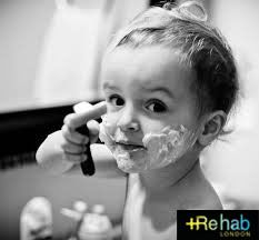 Tip of the day - #ShaveProduct: Be generous in your application of shaving product, taking it in the hand and creating lather with some water and then massaging into the beard in circular motions. The product will create a protective barrier, preventing moisture loss from the hair.  Recommended product #Cold Turkey Shaving Gel.