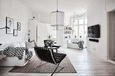 Post: Lámpara de plumas en la cocina --> blog decoración nórdica, cocinas grandes blancas, cocinas modernas, cocinas nórdicas, decoración cocinas, decoración interiores, diseño interiores, Eos Lampshade VITA, Lámpara de plumas en la cocina
