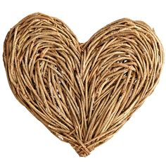 Love is the bond that weaves us together, and it's displayed simply and beautifully with Pier 1's hand-woven Natural Vine Heart Wall Decor.