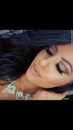Amrezy soft glam look Eye Makeup, Flawless Makeup, Gorgeous Makeup, Pretty Makeup, Beauty Makeup, Hair Beauty, Matte Makeup, Simple Makeup, Makeup Trends