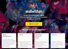 Muro virtual en el que podrás insertar imágenes, texto, vídeos y audio. http://padlet.com/account/login