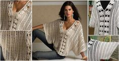 Easy Crochet Blouse Tutorial