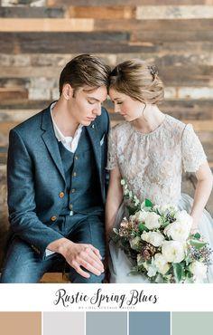 Rustic Spring Wedding Colour Palette