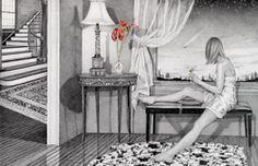 Kay Ruane - beautiful drawings
