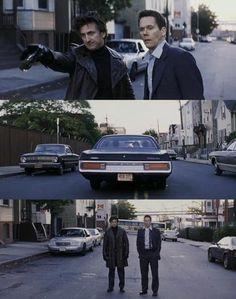 Sean Penn & Kevin Bacon in Mystic River