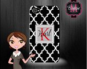 Iphone 4/4s, Iphone 5/5s & 5c, Ipod 4, Ipod 5 Premium Case, Custom Monogrammed and Personalized