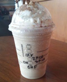 Starbucks Secret Menu: Horchata (Orxata) Frappuccino