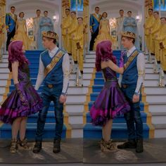 "3,317 To se mi líbí, 7 komentářů – Mal and Ben (@mal_and_ben_s2) na Instagramu: ""You and Me 2/6 #Dotchell #Dovell #Desciendentes2 #Descendants2 #Descendentes2 #Beal #Bal"""