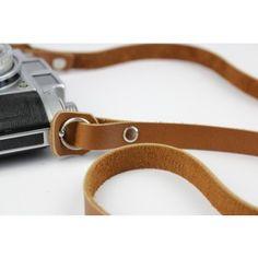 Alexej Nagel Vintage Kameragurt aus Leder