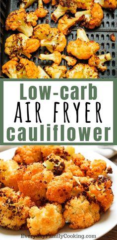 Cauliflower Side Dish, Spicy Cauliflower, Buffalo Cauliflower Bites, Cauliflower Recipes, Healthy Pasta Recipes, Vegetable Recipes, Vegetarian Recipes, Keto Recipes, Healthy Menu