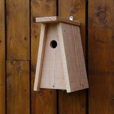Nichoir tipi, nichoir pour oiseaux des jardins, nichoir en bois