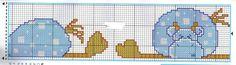 patrones de punto de cruz de bebe - Buscar con Google