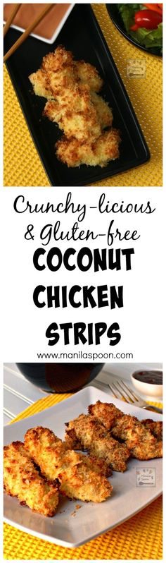 These delicious and crunchy Coconut Chicken Strips are tried and tested and easy to make. My whole family enjoys these nibbles. Can be made gluten-free, if preferred. Freezable, too.