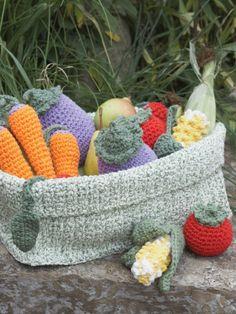 Veggies | Yarn | Free Knitting Patterns | Crochet Patterns | Yarnspirations