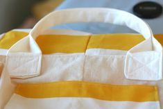 """Ever since I made one of these tote bags a couple weeks ago it's been my favorite carry-all bag. I still used this tutorial as the basic process for making a lined bag but make several modifications I wanted to share to make it a tote.The dimensions are easy. Two 20"""" x 20"""" squares of …"""