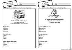 lecture, cp, comprehéension, difficulté Core French, French Class, French Lessons, Read In French, Learn French, French Teaching Resources, Teaching French, Reading Activities, Teaching Reading