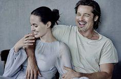 Angelina & Bratt for Vanity Fair Nov 2015 by Peter Lindbergh